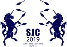 SJC - Scottish Juggling Convention 2019 logo